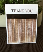 Thank You Challenge - Masculine card