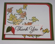 Thank You in Autumn colors