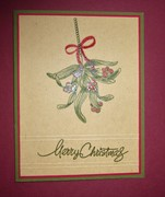 Mistletoe on Kraft