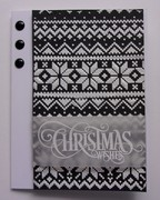 Black and White Holiday Card One