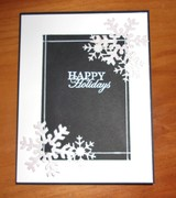 Black and White Holiday Card Four