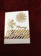 Monochromatic Christmas Card