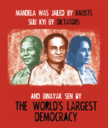 Free Binayak Sen Poster circulated by HR activists in India