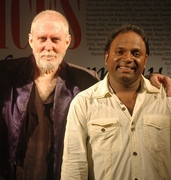 rahul with Actor & event anchor Tom Alter