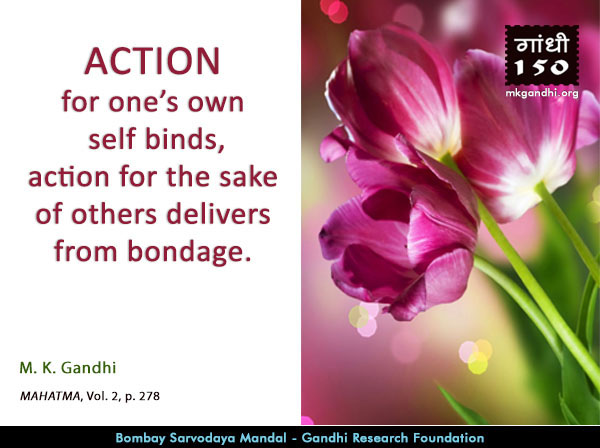Thought For The Day ( #ACTION )