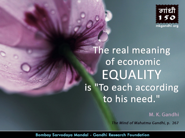 Thought For The Day ( EQUALITY )