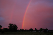 July 12 2010  Rainbow at Sunset