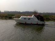 A passing boat