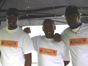 Spanna,I and Bro Keith @ Manchester outreach cant find Singin D.
