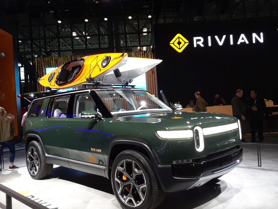 New York International Auto Show 2019 Rivian electric adventure vehicle