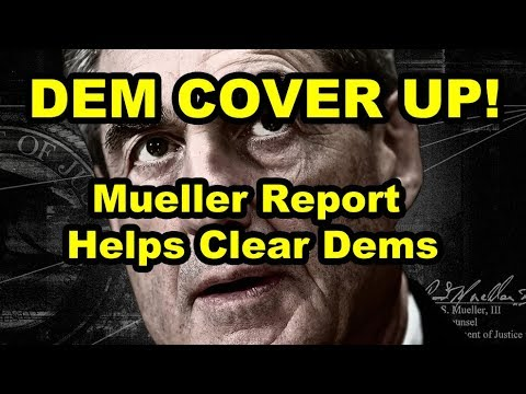 MSM Will Not Report on This! Mueller Report Cover for DNC & Clinton Crime w/ Alexandra Bruce