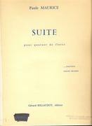 Paule Maurice - Suite pour quatuor de flutes