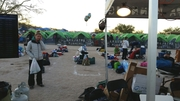 Tent city at Javelina 100