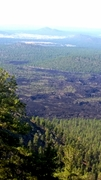 Lava flow from Sunset Crater