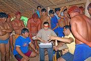 Reunião aldeia Kalapalo, Dezembro 2007