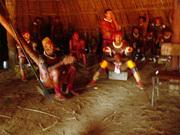 Reunião aldeia Waura, Dezembro 2007