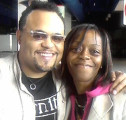 Kick'n it w/Israel Houghton @ the Joyce Meyer Woman's Convention