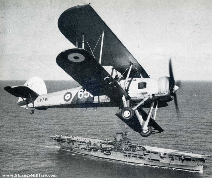 Fairey Swordfish, UK