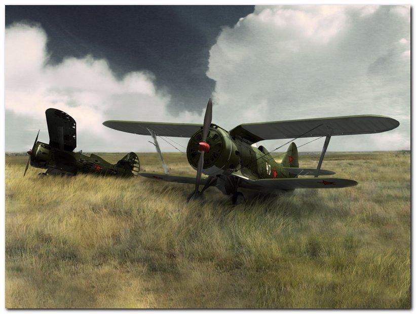 Polikarpov I-153, USSR