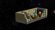 Part 1, Lego Noir Office, right view