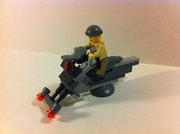 lego modified mercenary hover bike