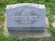 Charles W Shaw Marker