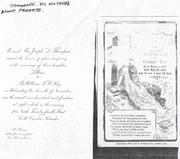 Christina Macy Funeral card