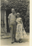 Uncle Charles W Shaw and Shirley Hiddle