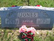 Bessie Shaw Jones and Casey Jones Marker