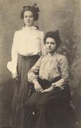Electa and sister -print