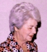My mother: Mattie du Plessis, born Kriel