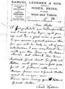 Samuel Letter 1