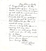 Samuel Lederer Letter 2