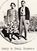 Mary Suniga & Paul Romero