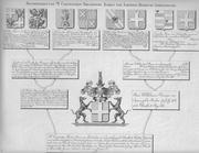 Kwartieren van Mr Costantijn Theodoor Baron van Lijnden, heer van Sandenburg