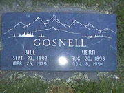 Bill and Musetta Laverne Moore Gosnell