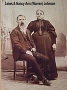 Lewis Johnson 1838-1912 Nancy Clark Warren