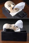 超搞笑的創意面紙盒001