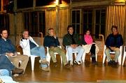 Dionizio, Roberto, Cilon, Claudio, Jany e Carla