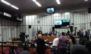 Sessão Legislativa - manifestação de apoio ao Fórum