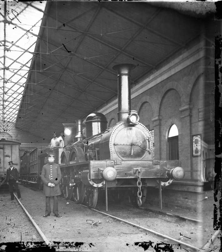 South Town Railway Station, Great Yarmouth.