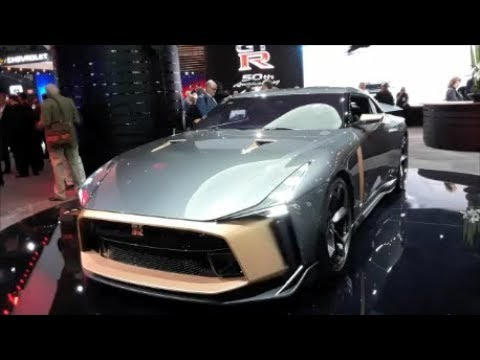 A Walk About the Nissan GT R 50 by Italdesign