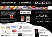 La brochure di Modix