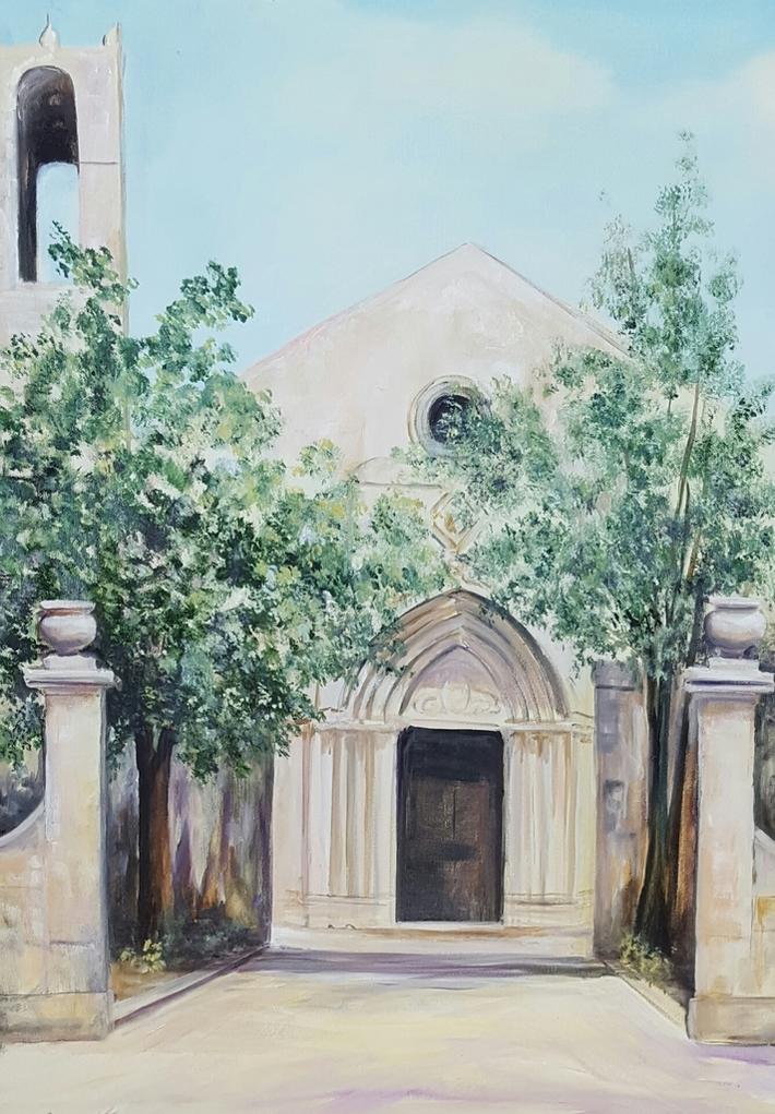 S.Maria del Gesù 2016 cm 50x70