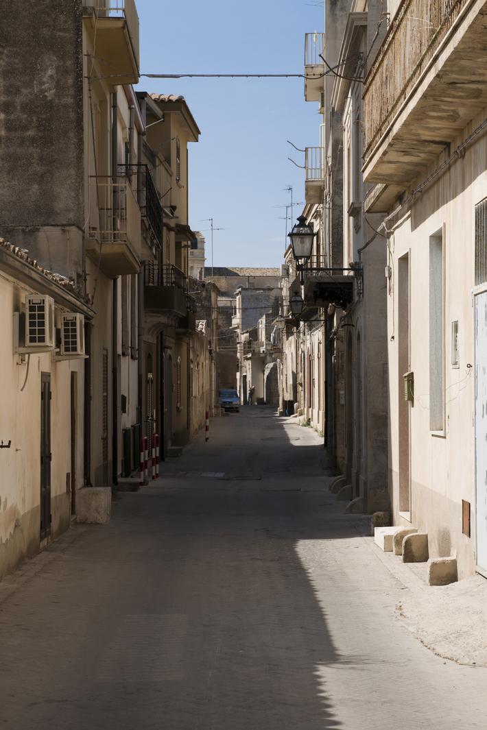 Via del Calvario, nel Borgo Antico