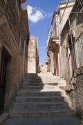 Scalinata nel piccolo Borgo Antico