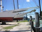 Ida May and City of Crisfield Dry Dock