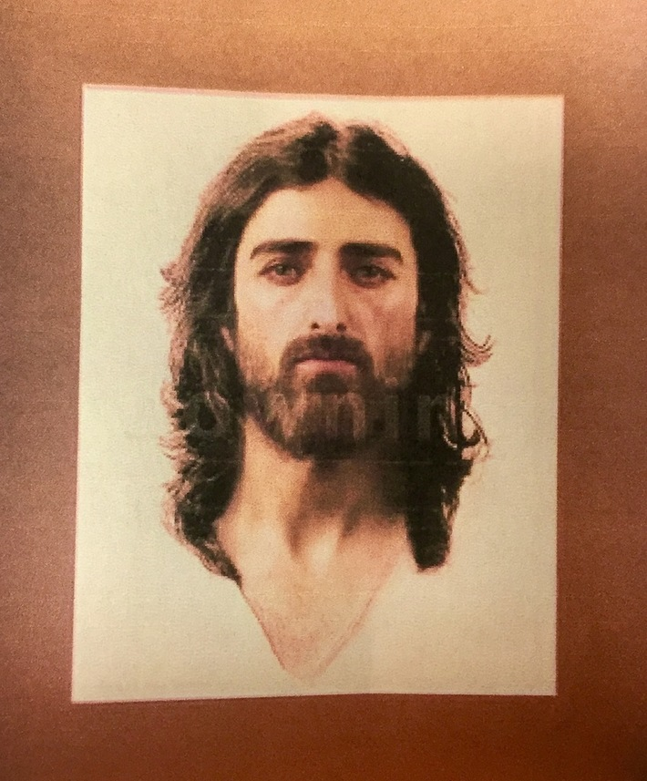 Face of Jesus determined by scientic means from the Shroud of Turin