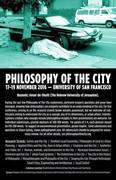 Philosophy of the City CFP 2016