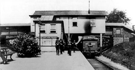 Bowes Park Station 1